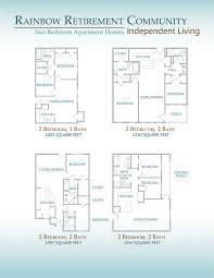 Retirement Floor Plans Retirement Living Floor Plans
