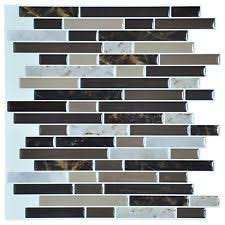self adhesive wall tiles peel and stick backsplash kitchen vinyl