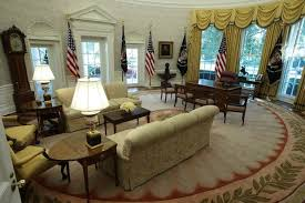 Trump Oval Office Rug Trump Or Obama Who Decorated The Oval Office Better