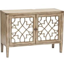 Mirrored Storage Cabinet Stylish Console Cabinet With Doors Two Door Mirrored Console