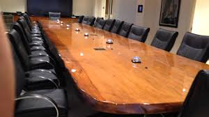 Large Boardroom Tables Beautiful 33 Foot Long Ancient Kauri Boardroom Table Youtube