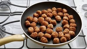 creamy meatball and garden vegetable skillet recipe pillsbury com