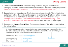 learnhive icse grade 5 english letter writing lessons