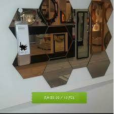 Tempat Jual Cermin Hias Di Jakarta cermin hiasan home furniture home d礬cor on carousell
