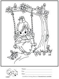 precious moments coloring pages printable wedding free for