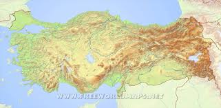 Istanbul On World Map by Turkey Physical Map