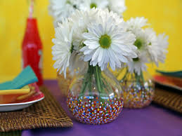 Glass Vase Painting How To Paint Confetti Dotted Glass Vases Hgtv