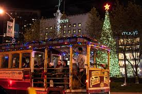 christmas lights san francisco 2016 christmas tree lighting ceremonies at union square san