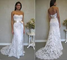 custom made wedding dresses hippie wedding dress sleeveless sweetheart floor length lace