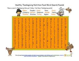 holidays 11 chef solus thanksgiving nutrition word search challenge