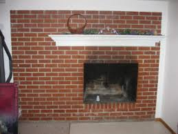 How To Cover Brick Fireplace by Refacing A Fireplace