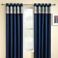 buy siesta blackout blue eyelet curtains online home focus at