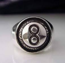 ball rings images Big joe 39 s biker rings sterling silver men 39 s 8 ball ring r 29s jpg