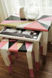 geometric nesting tables u2013 a beautiful mess