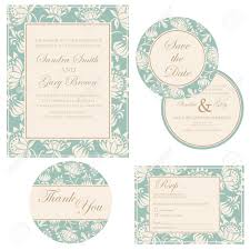 Wedding Invitations And Rsvp Cards Wedding Invitation Set Thank You Card Save The Date Card Rsvp