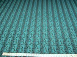 8 3 8 yards of peacock blue stripe upholstery fabric