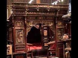 antique canopy bed antique chinese carved canopy bed with alcove rb1007x wmv youtube