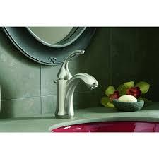 kohler k 10215 4 bn forte single control lavatory faucet vibrant