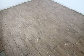 wood plank tile floor design in kitchen after remodel ideas