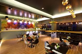 Low Cost Restaurant Interior Design Freshco The Health Cafe By The Crossboundaries Vadodara U2013 India