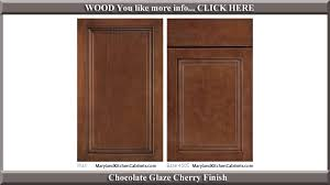 Cherry  Cabinet Door Styles And Finishes Maryland Kitchen - Custom kitchen cabinets maryland