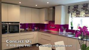 Kitchen Splashbacks Par Glass London Bespoke Kitchen Splashbacks Presentation Youtube