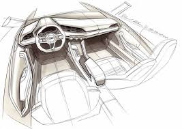 audi crosslane coupé concept design sketches car body design