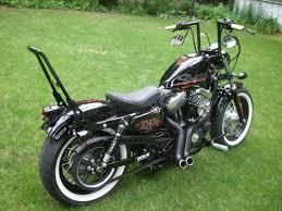Harley Davidson 174 Seat Cover Harley Davidson Custom Sportster With Angled Mini Apes Sissy Bar