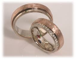 two tone wedding bands diamond wedding rings ft304 white and gold two tone
