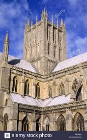 cathedral somerset central tower uk medieval