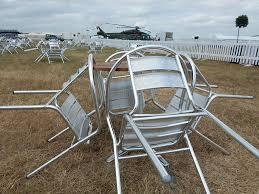 Aluminium Bistro Chairs Aluminium Cafe Chair Hire Event Hire Uk