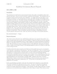 proposal qualitative research proposal template