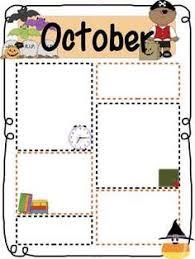 november thanksgiving preschool newsletter template the crafty