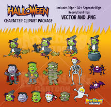 cute halloween clipart halloween clipart packages anything cartoon