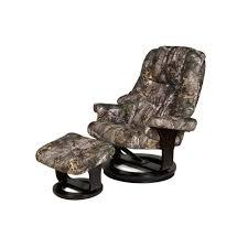 relaxzen camo 8 motor massage recliner with heat and ottoman 60