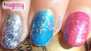 how to fine glitter tinsel glitter mix and mylar on natural