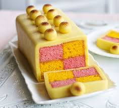 Marzipan Easter Cake Decorations by Simnel Battenberg Cake Recipe Bbc Good Food