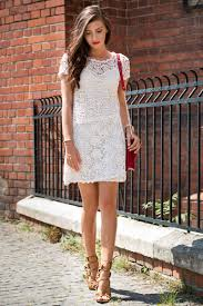 white lace dress how to wear a lace dress this is how it s done just the design