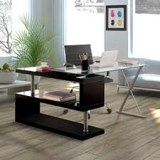 L Shaped Contemporary Desk L Shaped Desks Home Office Furniture For Less Overstock