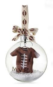 mud pie christmas ornaments baby football ornament bryce mud pie baby and