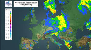 European Weather Map by Severe Thunderstorms To Hit Parts Of Europe The Weather Channel