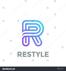 r logo letter r logo design vector template stock vector 396870631
