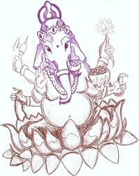 ganesh tattoo sketch