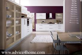 Wall And Open Glass Shelves Kitchen Cabinet Design - Glass shelves for kitchen cabinets