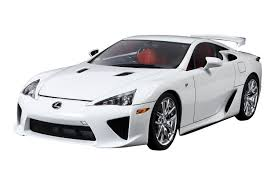 lexus two door coupes amazon com tamiya 24319 lexus lfa 1 24 plastic kit toys u0026 games