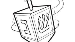 hanukkah coloring page hanukkah series dreidel grandparents com
