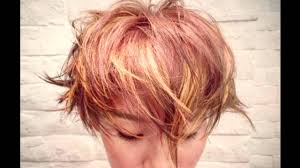 edgy ways to jazz up your short hair with highlights youtube