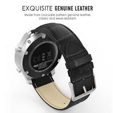 amazon com gear s3 watch band moko premium soft genuine leather