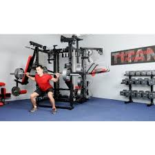 titan t3 x multi exersise body building workout multi gym 7