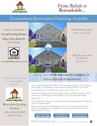 renovation lending institute offers california u201chud u201d property